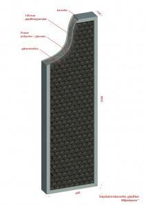 Kassette glasfiber 2 100115