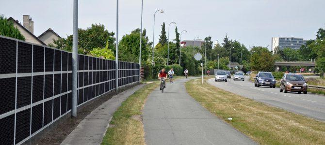 Ny støjskærm i Vallensbæk